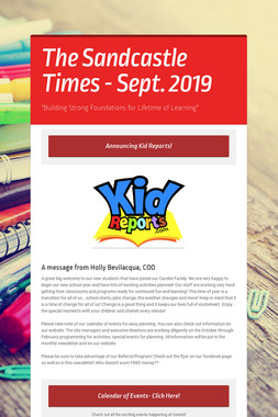 The Sandcastle Times - Sept. 2019