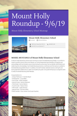 Mount Holly Roundup - 9/6/19