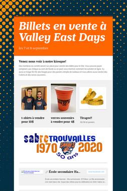 Billets en vente à Valley East Days