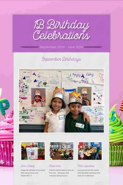 1B Birthday Celebrations