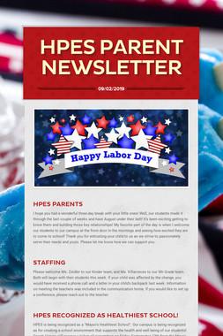 HPES Parent Newsletter