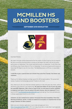 McMillen HS Band Boosters