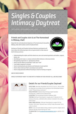 Singles & Couples Intimacy Daytreat