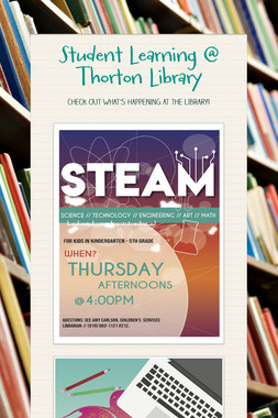 Student Learning @ Thorton Library