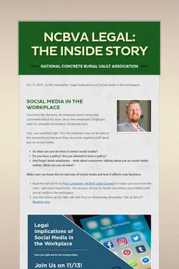NCBVA Legal: The Inside Story