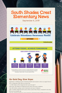 South Shades Crest Elementary News