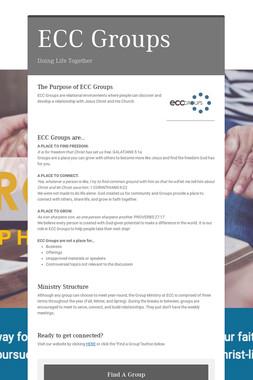 ECC Groups