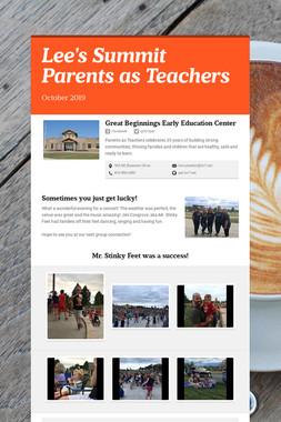 Lee's Summit Parents as Teachers