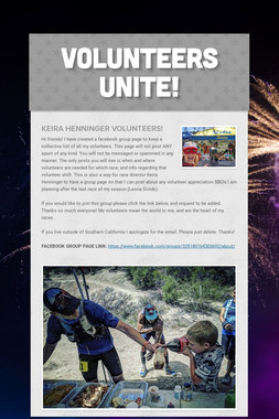 Volunteers Unite!