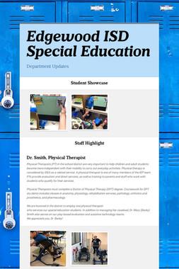 Edgewood ISD Special Education