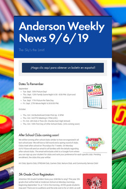 Anderson Weekly News 9/6/19