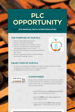 PLC Opportunity