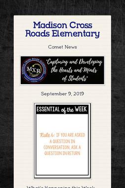 Madison Cross Roads Elementary