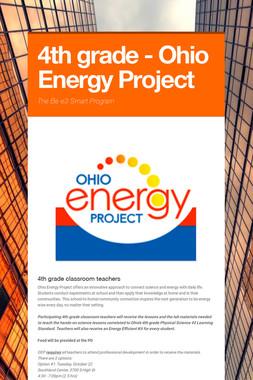 4th grade - Ohio Energy Project