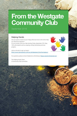 From the Westgate Community Club