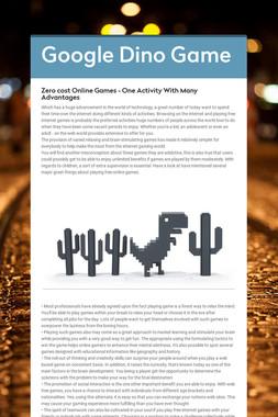 Google Dino Game