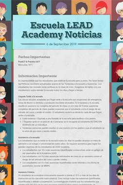 Escuela LEAD Academy Noticias