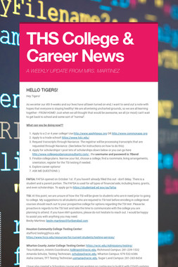 THS College & Career News