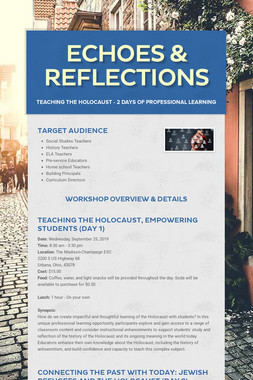 Echoes & Reflections