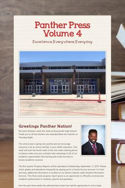 Panther Press Volume 4
