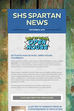 SHS Spartan News