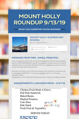 Mount Holly Roundup 9/13/19