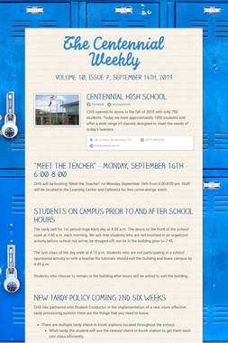 The Centennial Weekly