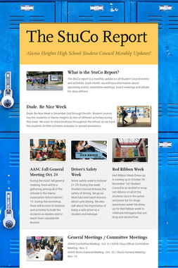 The StuCo Report