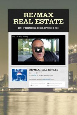 RE/MAX real estate