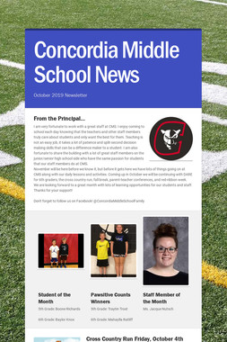 Concordia Middle School News