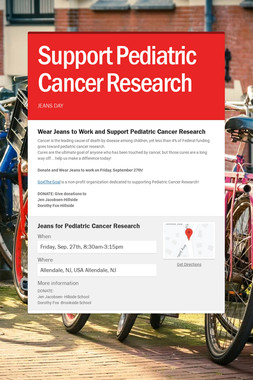 Support Pediatric Cancer Research