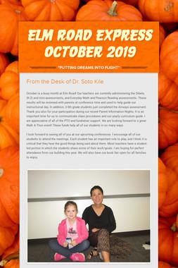 Elm Road Express October 2019