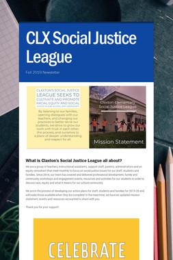 CLX Social Justice League
