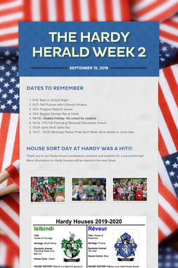 The Hardy Herald Week 2