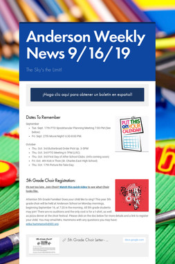 Anderson Weekly News 9/16/19