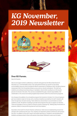 KG November, 2019 Newsletter