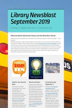 Library Newsblast September 2019