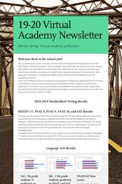 19-20 Virtual Academy Newsletter