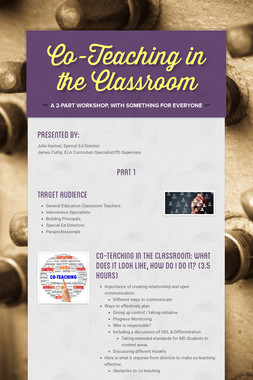 Co-Teaching in the Classroom