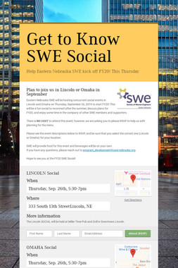 Get to Know SWE Social