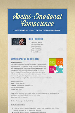 Social-Emotional Competence