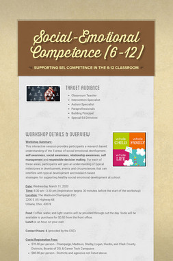 Social-Emotional Competence (4-8)