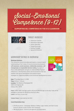 Social-Emotional Competence (9-12)