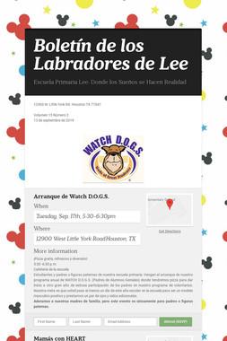 Boletín de los Labradores de Lee