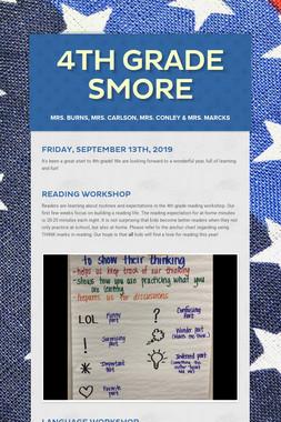4th Grade Smore