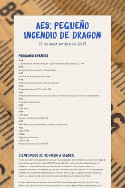 AES: Pequeño Incendio de Dragon