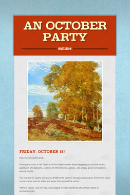 An October Party