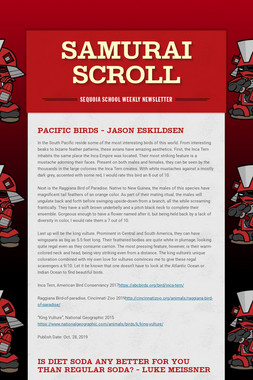 Samurai Scroll