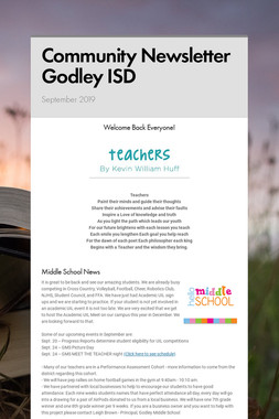 Community Newsletter Godley ISD