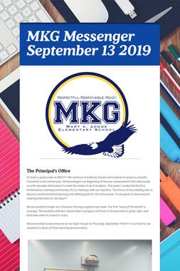MKG Messenger September 13 2019